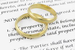 Изменение брачного договора