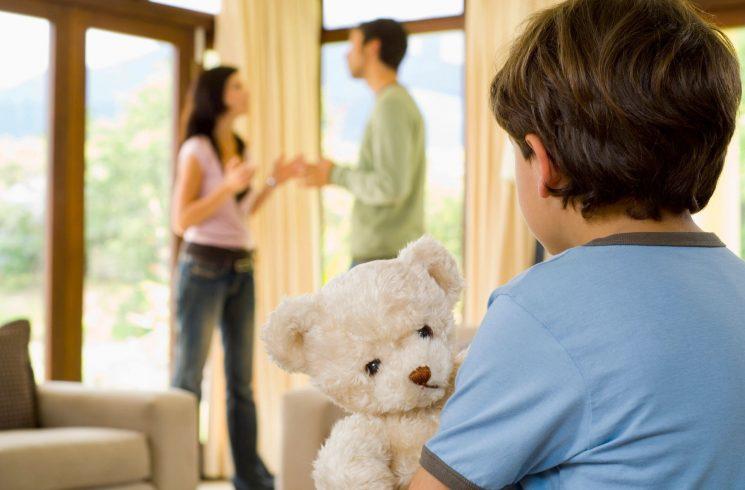 Имущество детей при разводе